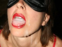 Photos of real milfs, wives, and mature moms giving blowjobs and getting facials