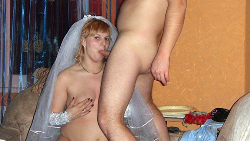 Wedding sex amateur bride