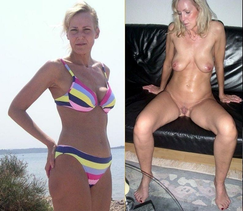 Milf nude wife before after