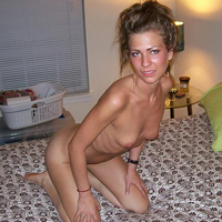 Skinny Wife and Mom shows off her body