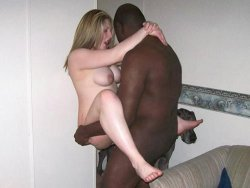 Tiny MILF is like a sex toy for this big black guy