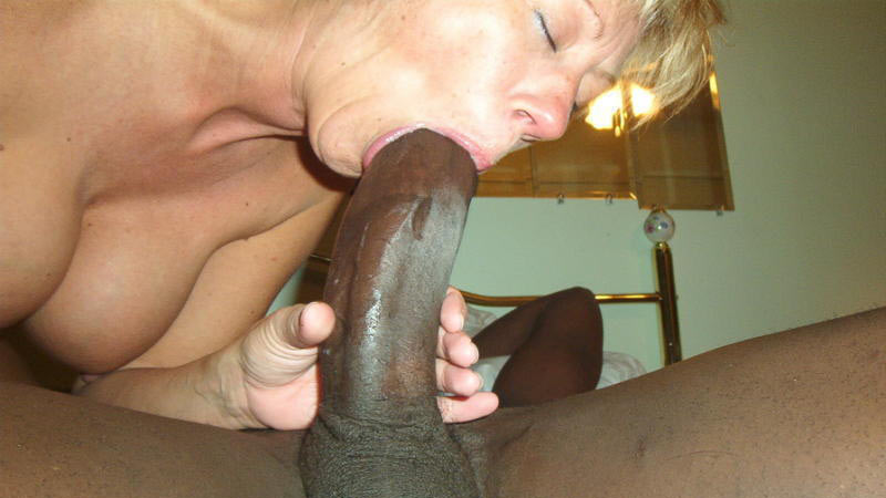 Amateur wife fucking first black dick