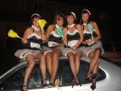 MILF wives in maid uniforms