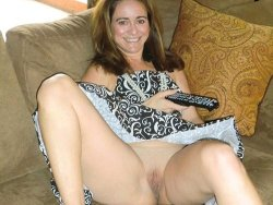 Chubby mature cutie gets naked indoors and outdoors