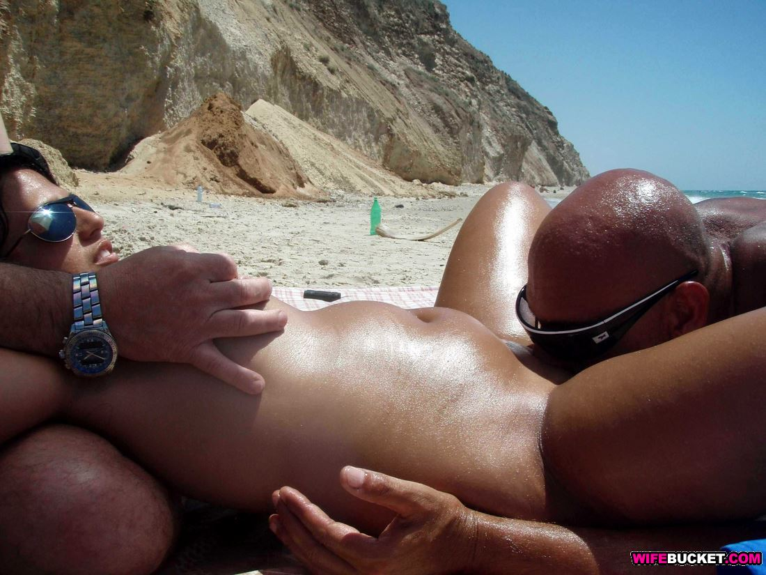 Remarkable, very Hot nude wife on beach speaking, you