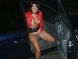 Older wife goes dogging with strangers