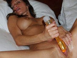 Wife Cums Hard On Dildo
