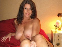 Mature wife with big natural boobs