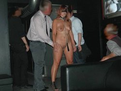 Mature slave in the dungeon