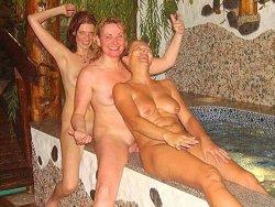 Amateur swinger sex at a secret resort