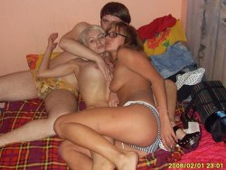 Pics of amateur wife-swapping and real orgies