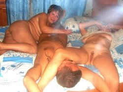 Photos of wives shared at amateur orgies