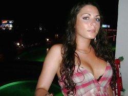 Nude of hot young bride on her honeymoon