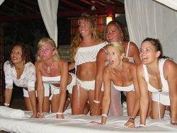 Real mature swingers on a vacation together