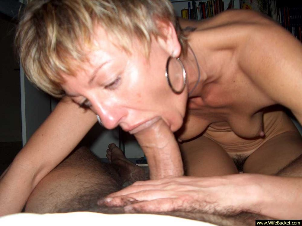 Cheating wife blowjobs