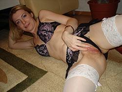 Hot MILF lingerie pics