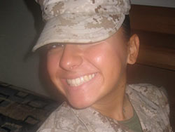 Naked selfies from a military gal