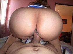 Homemade pics of hot wife fucking