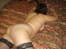 BBW amateur nude in bed