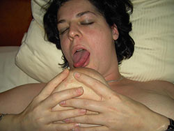 Fucking and facials for real mature wife
