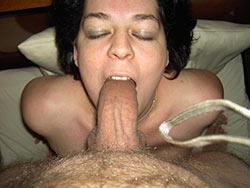 Real mature blowjob pics