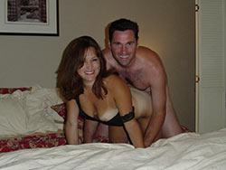Sex pics from a rich California couple
