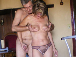 Mature wife nude post