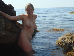 Nude pics from this hot bride's honeymoon