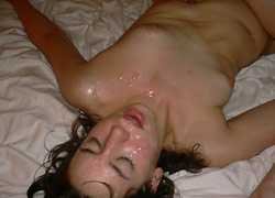 User-submitted pics from a real amateur gangbang