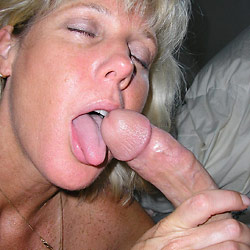Hot blowjobs pics from a real mature slut