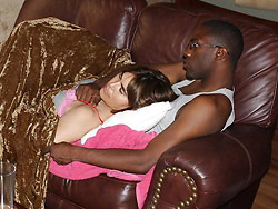 Interracial sex pics from this cuckolding wife