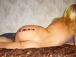 Homemade nudes of a hot amateur wife