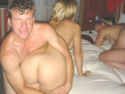 Wife-swap pics from the amateur orgy