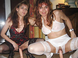 Amateur orgy with real MILF wives