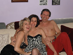 Naked couples swapping
