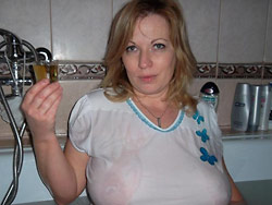 Naked pics of a busty mature wife