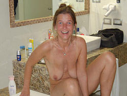 Nude photos of a real amateur wife