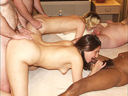 Pics from an amateur swinger party