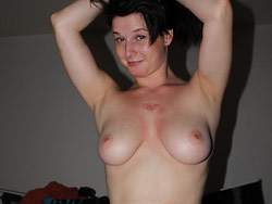 Naked photos of a real MILF wife