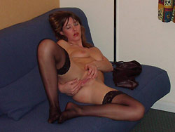 Naked pics of a real MILF wife