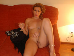 Naked pics of an older amateur wife