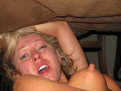 Homemade sex pics from a young bride