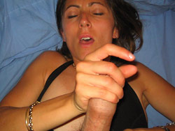 Hot sex at home with a real MILF