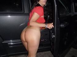 Older amateur wife nude in public