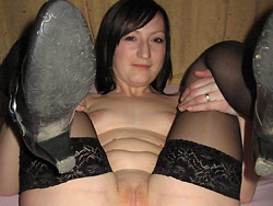 Home sex pics of a real MILF wife