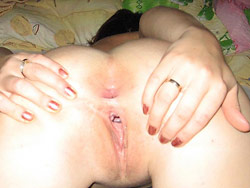 After sex pussy pics of a hot wife