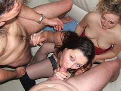 Wife swap with real amateur wives