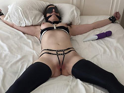 Homemade sex pics with a real slave wife