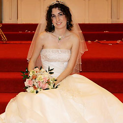 Naked pictures of a real amateur bride