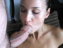 WifeBucket Pics | Big-cock blowjob pics